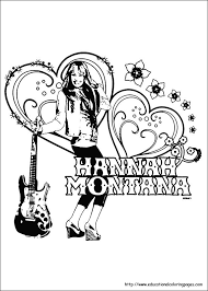 fun kids coloring pages hannah montana coloring pages educational fun kids coloring