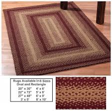 Braided Kitchen Rug 25 Best Braided Rugs Images On Pinterest Country Primitive