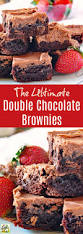 the ultimate double chocolate brownies recipe this mama cooks