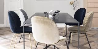 assez chaises salle manger design chaise velours a eliptyk