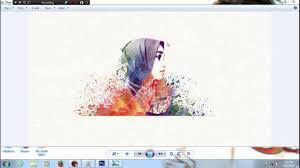 cara membuat watercolor abstrak dengan photoshop cara tutorial edit foto efek watercolor atau seperti lukisan youtube