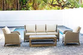 patio plus indo 4 piece canvas patio lounge set the home depot canada
