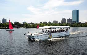 Walking Map Boston by Boston Duck Tours