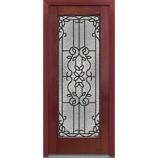 glass outside door 32 x 80 1 panel front doors exterior doors the home depot