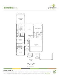 Wendy House Floor Plans Overlook At Carter U0027s Creek Parkside Builders