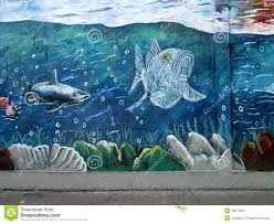 urban art marine life editorial image image of wall 48571820 editorial stock photo