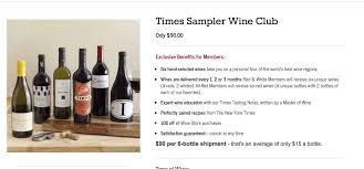 best black friday deals of all time new york times wine club black friday deal 6 wines 60 shipped