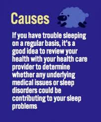 what causes insomnia insomnia
