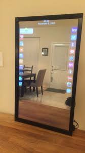 smart mirror interactive smart mirror with an store by
