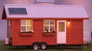 tiny country home large opening windows small trailer house