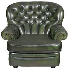 green leather chesterfield sofa antique green leather chesterfield wing back arm chair