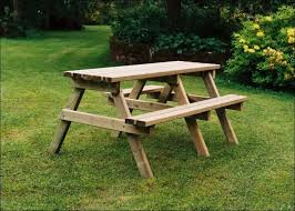 exteriors hexagon picnic table plans red picnic table plans to