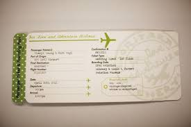 airplane ticket invitations airplane wedding invitations plane