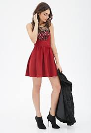 black and red dress forever 21 fashion dresses