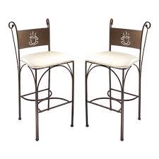 table de cuisine en fer forgé cuisine cappuccino chaises hautes en fer forgã cm parer chaises