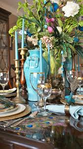 themed tablescapes peacock themed tablescape weddings events