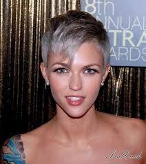 gray shag haircuts 30 nicest short shag hairstyles slodive