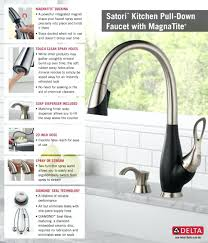 delta touch kitchen faucet home depot canada repair kit single