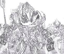 halo coloring pages characters printable halo 4 character