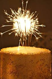 party candles fireworks birthday cake firework candles sparkling thick 6 party supplies