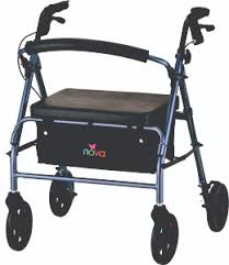 senior walkers with seat vibe wide heavy duty rolling walker rollators