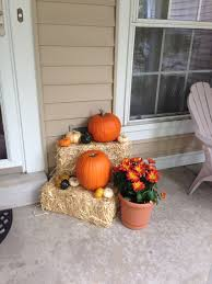 Fall Decorations For Outside The Home Fall Porch Decorating Ideas Scarecrows Porch And Thanksgiving