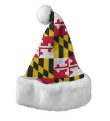 maryland flag santa hat route one apparel