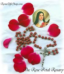petal rosary petal rosary from spain with free st postcard
