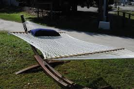 8 hammocks and a couple of hammock stands made in the usa the