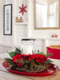 Xmas Table Decorations by Sweet Christmas Centerpieces Fun To Make And Great To Display