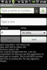 sms bomber apk sms bomber android