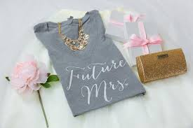 Gifts For Future In Future Mrs Shirt Shirt To Be T