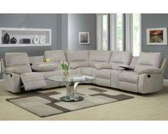 aspen seven piece power reclining sectional sofa with cupholders