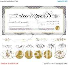 Gift Certificate Word Template Sample Gift Certificate Top Gift Certificate Swirls And Seals