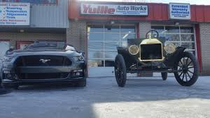 mustang ricer 100 years of ford 2015 mustang 1915 model t justrolledintotheshop