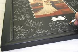 wedding autograph frame the gallery at brookwood shop home