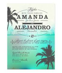 palm tree wedding invitations wedding invitation archives lot paperie