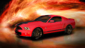Red Mustang With Black Stripes 2011 Shelby Gt 500 Red W Black Kr 500 Stripes For Sale Ford