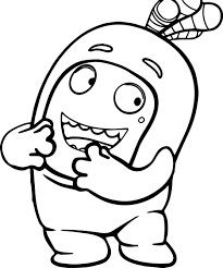 octonauts coloring pages inspirational oddbods coloring