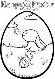 printable easter bunny egg decorating coloring pages printable