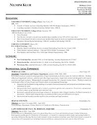 Sample Resume For Lawyers by Sample Resume Law Free Resume Example And Writing Download