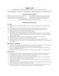 Customer Service Job Duties Resume by Customer Customer Service Professional Resume