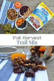 Thanksgiving Trail Mix Fall Trail Mix Recipes Perfectvenue Us