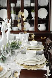 Elegant Table Settings Elegant Table Setting Ideas And Mikasa Dinnerware Giveaway