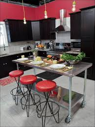 Metal Kitchen Island Tables Kitchen Kitchen Island Table Rolling Kitchen Cart Rolling