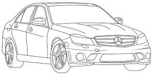 coloriage voiture de luxe a imprimer gratuit