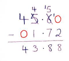 Adding And Subtracting Decimals Worksheets 5th Grade Subtraction Of Decimals Boxfirepress
