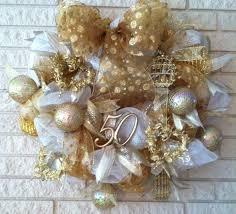 50th wedding anniversary christmas ornament 48 best wedding wreaths images on pinterest wedding wreaths