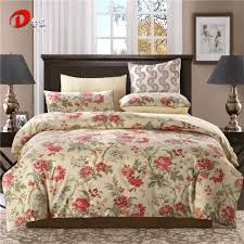 online get cheap red satin bed linen aliexpress com alibaba group