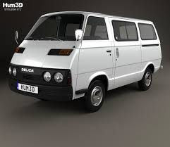 mitsubishi delica 2016 mitsubishi delica coach 1974 3d model hum3d
